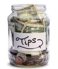 the tip jar