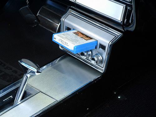 Return of the cassette tape ? 8-track-in-car