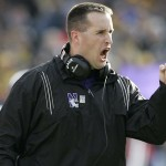 Coach Pat Fitzgerald, Northwestern University