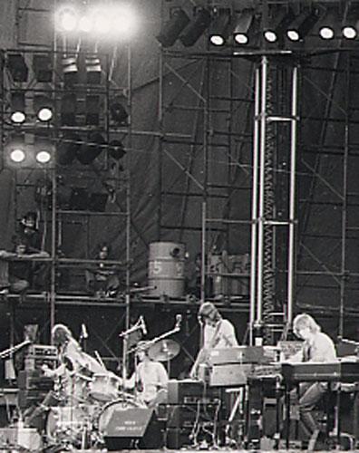 Resultado de imagen de Pink Floyd Detroit 1975