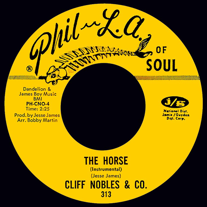 Cliff Nobles My Love Is Getting Stronger Too Fond Of You