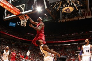 Lebron dunk face