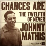 "Johnny Mathis: ""Chances Are"" b/w ""The Twelfth Of Never"""
