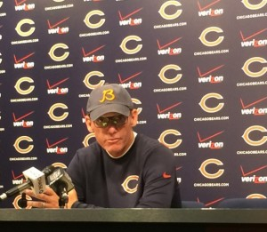 Bears coach Marc Trestman press conference
