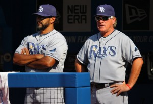 Dave Martinez and Joe Maddon