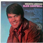 "Glen Campbell: ""Wichita Lineman"" b/w ""Galveston"""