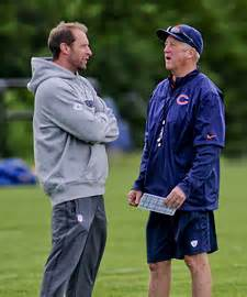 Chicago Bears OC Adam Gase and HC John Fox