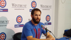 "Arrieta on his body of work ""it's good."""
