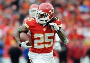 Chiefs RB Jamaal Charles