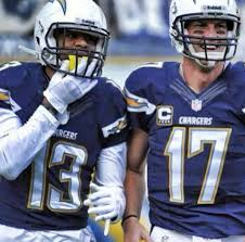Chargers WR Keenan Allen and QB Phillip Rivers