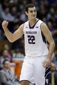 Northwestern Center Alex Olah