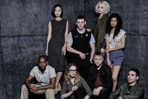 The cast of Sense8 (Netflix)