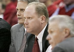 Wisconsn Head Coach Greg Gard