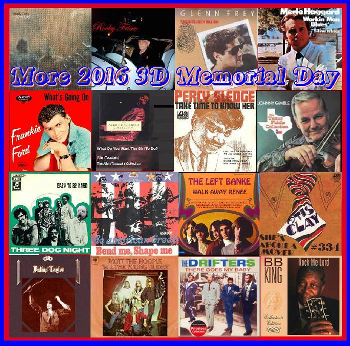 More 2016 3D Memorial Day