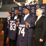 Bears Bolster Offense With Free Agents Bennett and Bushrod