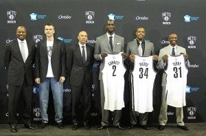 The new-look Nets are just one of the NBA