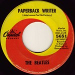 "Song Of The Day by Eric Berman – The Jukebox Series #16 – The Beatles: ""Paperback Writer"" b/w ""Rain"" – Capitol 45 RPM Single 5651 (K2/L2)"