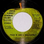 "Song Of The Day – The Jukebox Series #7 – Paul & Linda McCartney  – ""Uncle Albert/Admiral Halsey"" b/w ""Too Many People""  – Apple Records 45 1837 1971 (M1/N1)"