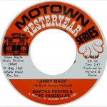 "Martha Reeves and the Vandellas: ""Jimmy Mack"" b/w ""I'm Ready For Love"""