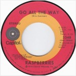"Raspberries: ""Go All The Way"" b/w ""Let's Pretend"""