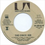 "The Jukebox Series #92 – WAR: ""The Cicso Kid"" b/w ""Beetles In The Bog""– United Artist UA-XW163-W"