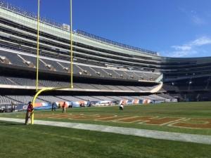 Empty Soldier Field