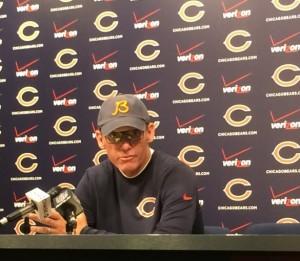 Bears coach Marc Trestman press conference