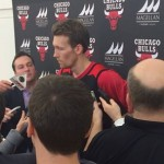 Mike Dunleavy meets with the media