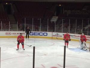 Chicago Blackhawks prepare for Montreal on Friday morning