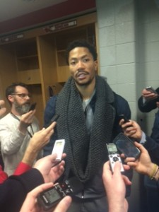 Derrick Rose after 132-129 loss to Dallas