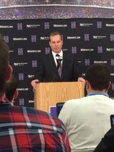 Chris Collins after loss