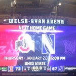 New Year, Familiar Score… ILL 72, NU 67