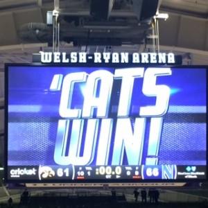 Iowa-Northwestern Final, 66 - 61