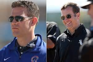 Cubs GM Theo Epstein and White Sox GM Rick Hahn