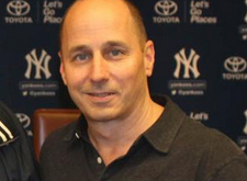 Brian Cashman, NY Yankees GM.   Photo courtesy yankees.com