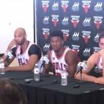 2015 Bulls Enter Preseason