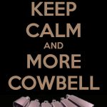 The 3D Cowbell Part VI
