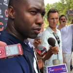 Roquan Smith returns to practice after agreeing to terms with Chicago Bears